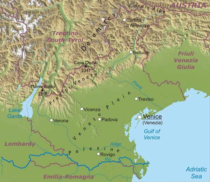 The Best Detailed Map Of Italy Ideas On Pinterest Map My - Map of italy physical