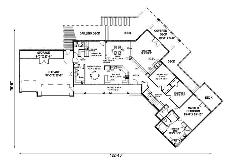 259 best unique floor plans images on pinterest house for House plans and more com home plans