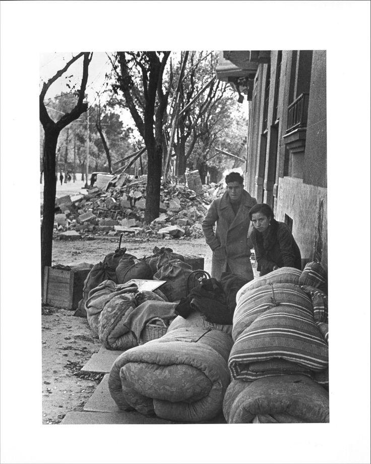 Madrid, noviembre-diciembre 1936, por Robert Capa.