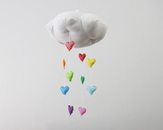 Heart Rainbow Cloud Mobile