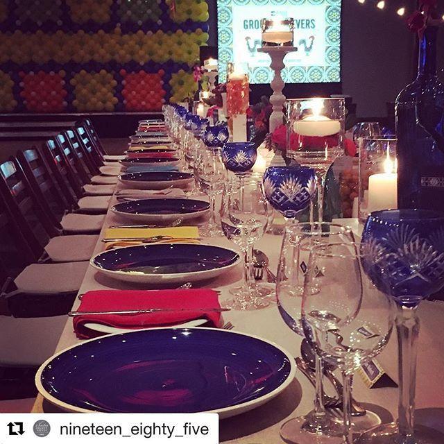 Cobolt blue plates
