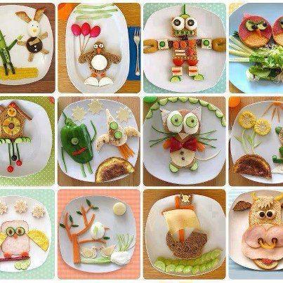 pratos decorados para crianças - Pesquisa Google