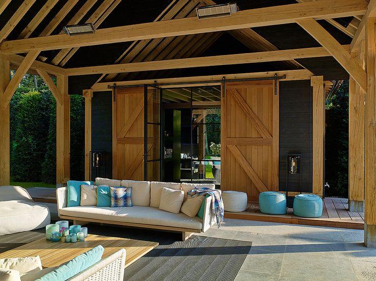 Meer dan 1000 idee n over overdekte terrassen op pinterest patio buiten zitplaatsen en buiten - Overdekte patio pergola ...