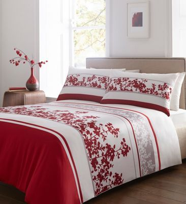 46 best images on pinterest bedding sets duvet covers and bed sets home collection red floral print cotton blend bedding set at debenhams gumiabroncs Image collections