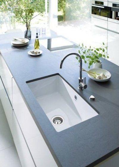 Arbeitsplatte Stein Grau In 2020 Badezimmer Diy Minimalistische Kuche Badezimmer Arbeitsplatten