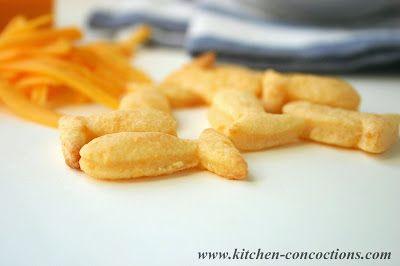 Homemade Goldfish Crackers #recipe