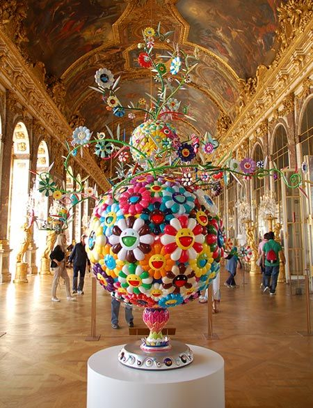 I dream of: Inspired by...Murakami at Versailles