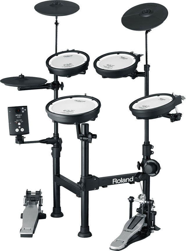 Roland TD-1KPX Portable Electronic Drum Set http://www.drumperium.com/roland-td-1kpx-electronic-drum-set/