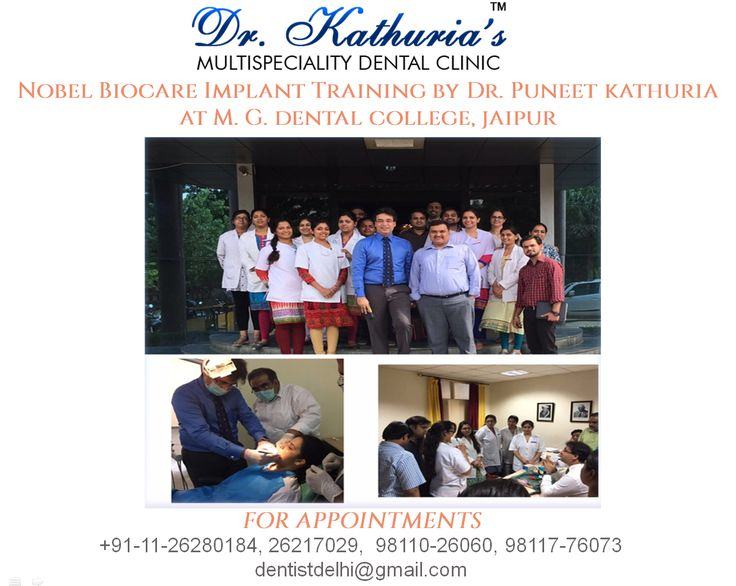 Nobel Biocare Implant Training by Dr. Puneet Kathuria at M. G. Dental College, #Jaipur. #Dentalimplants #DrKathurias #NobelBiocare