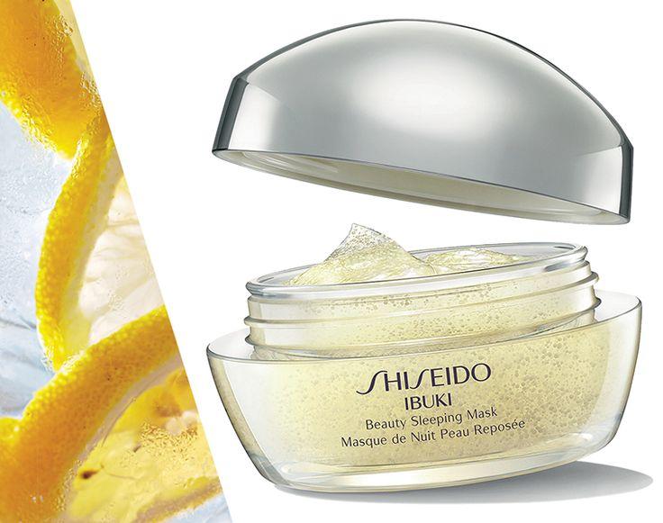 Ibuki Sleeping Mask contiene le vitamine E e C in grado di rendere la pelle fresca e radiosa ad ogni risveglio! http://www.shiseido.it/product/beauty-sleeping-mask/