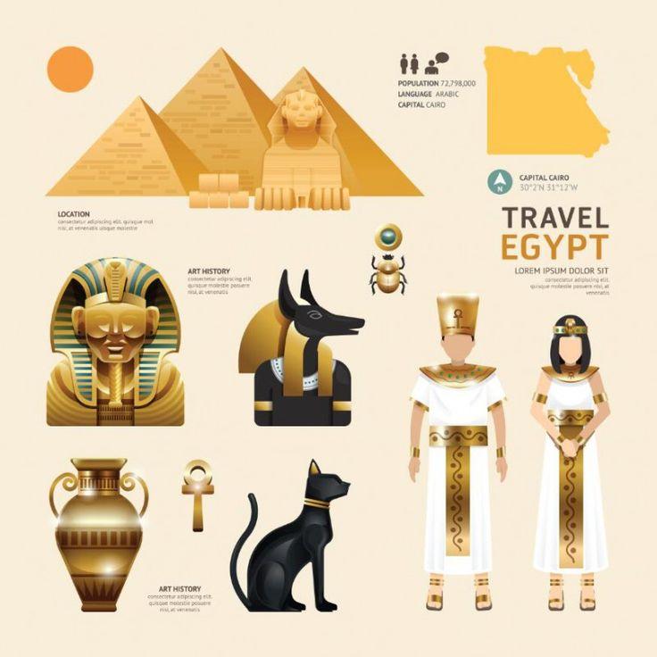 Travel Concept Country Landmark V (Travel Egypt)