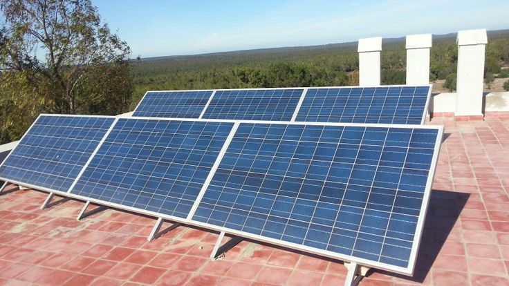 Pv panels to filtrate a pool