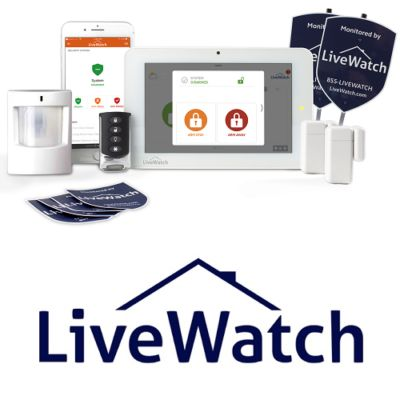 Security Systems & Security Alarms From motion sensing alarms, complete home security systems from LiveWatch, to our apartment security kits, here is where you find affordable security products for apartments, homes and businesses.