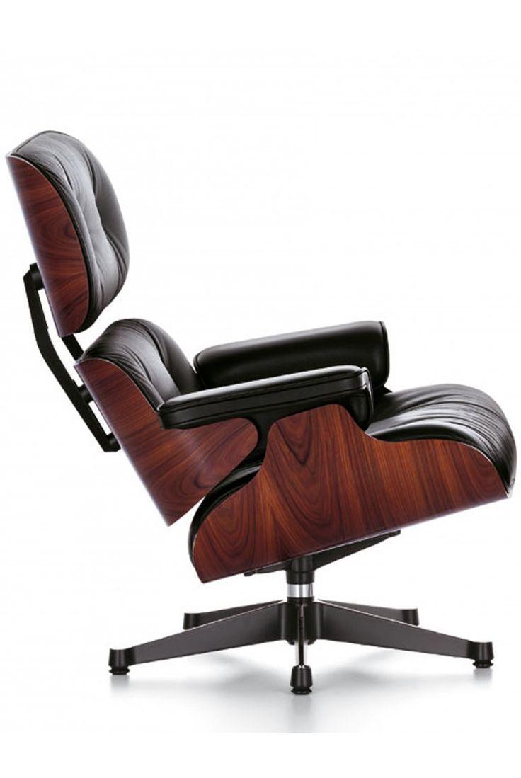Vitra lounge chair amp ottoman white version von charles amp ray eames - Vitra Eames Lounge Chair And Ottoman