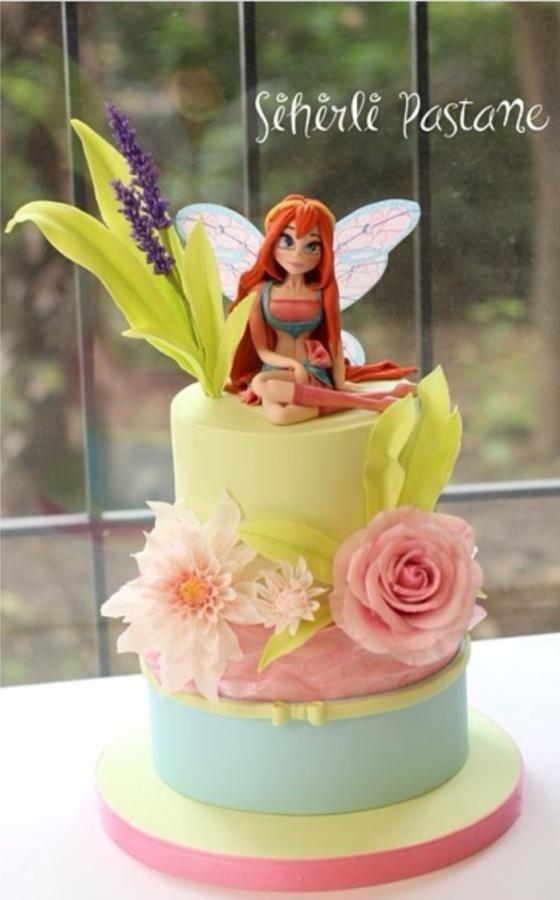 Winx Bloom Cake by Sihirli Pastane