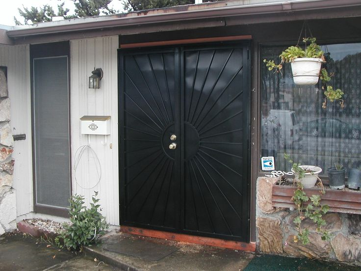 Security Doors Double Entry