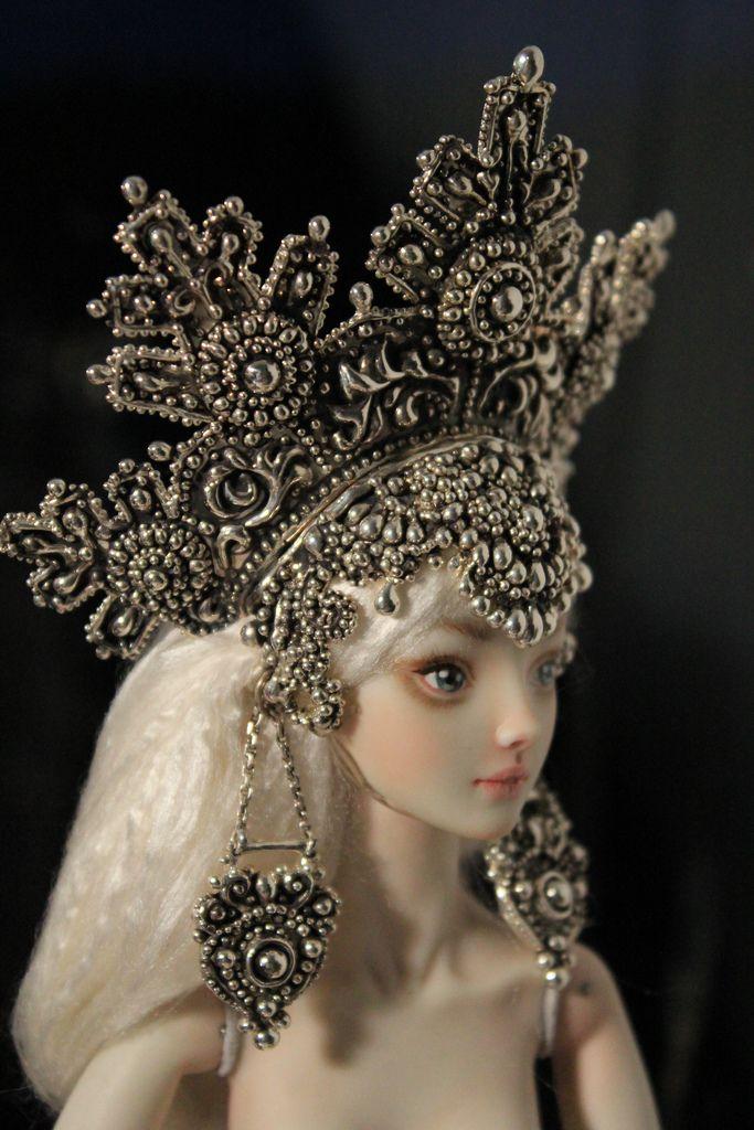 Enchanted doll by Marina Bychkova