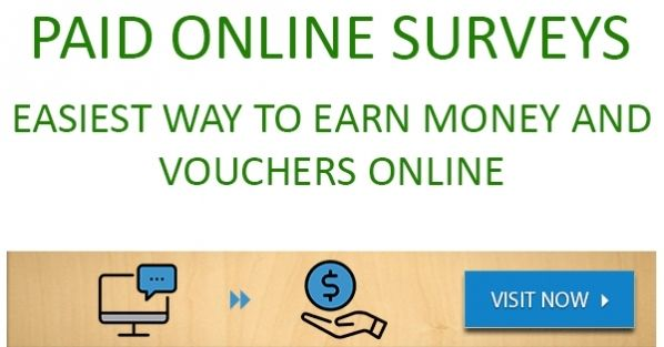 Survey Now is the easiest way to earn money and free vouchers online!  #ad