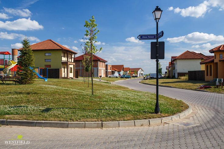 Aleea Teiului în #Westfield #arad #houses #residential #outdoor #playground #100povestifrumoase