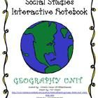 Geography skills are organized into one place for students to learn, manipulate, and study with this Interactive notebook.  $