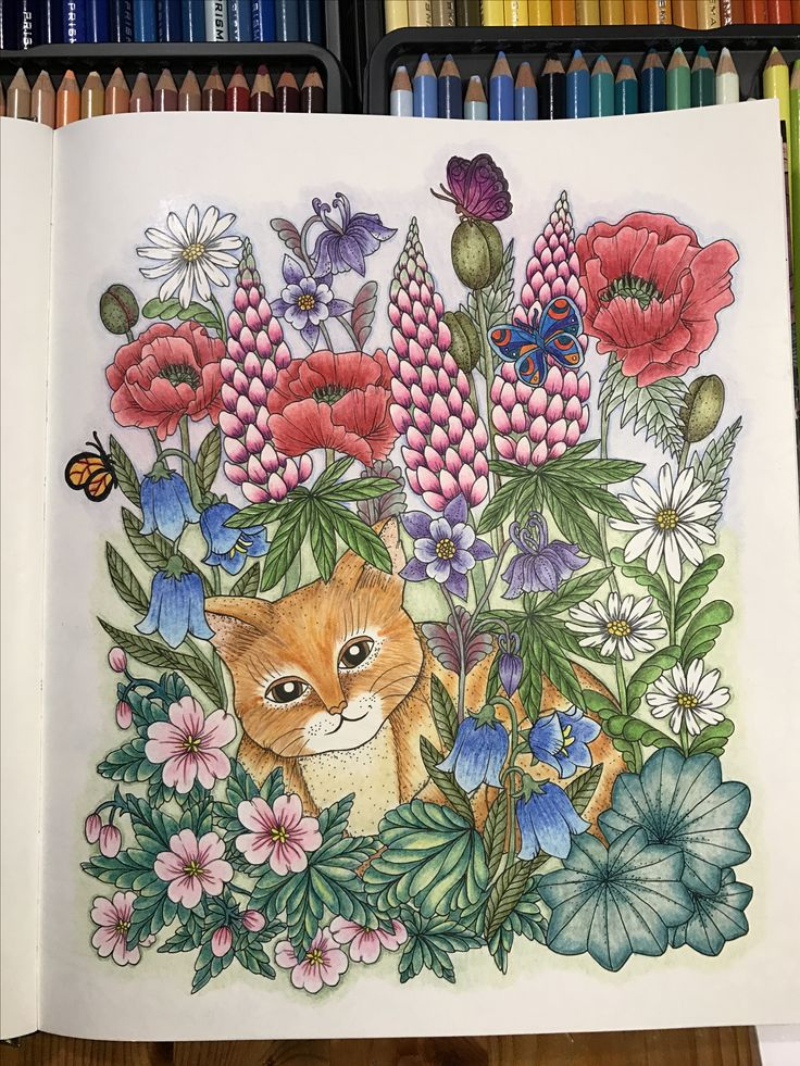 Blomster Mandala By Marie Trolle