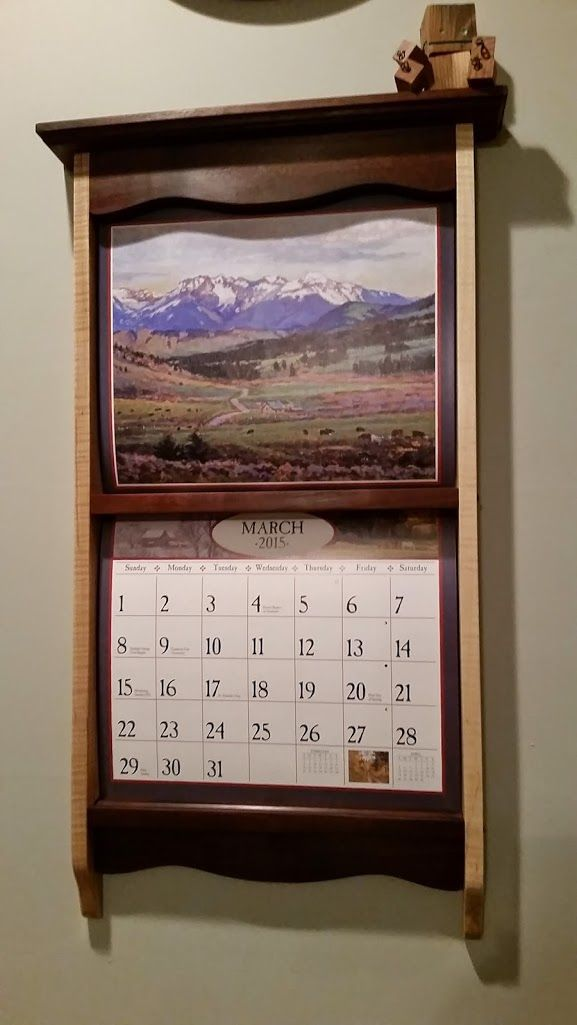 Calendar Wooden Frame : Images about lang calendar frame on pinterest