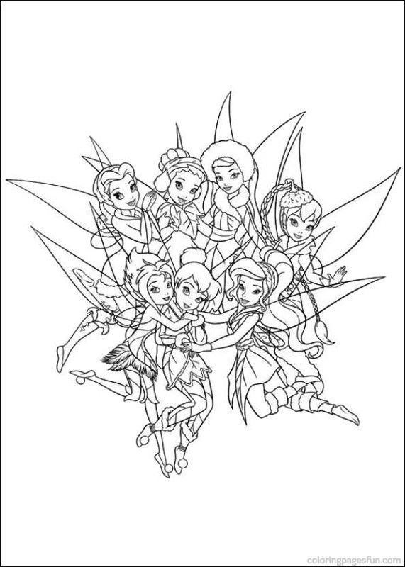 Tinker Bell and the Secret of the Wings Coloring Pages ...