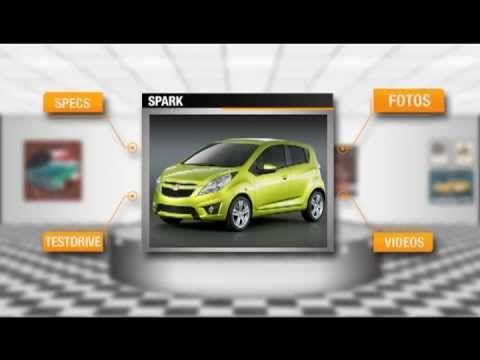 Para mostrar el catálogo virtual de Chevrolet, cumplimos el sueño de todo hombre, tener un garaje con los mejores autos de la marca para él solo.