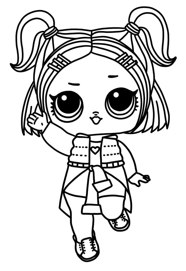 Pin By Anna Sigurlaug On Kleurplaten Cute Coloring Pages Coloring Pages Lol Dolls
