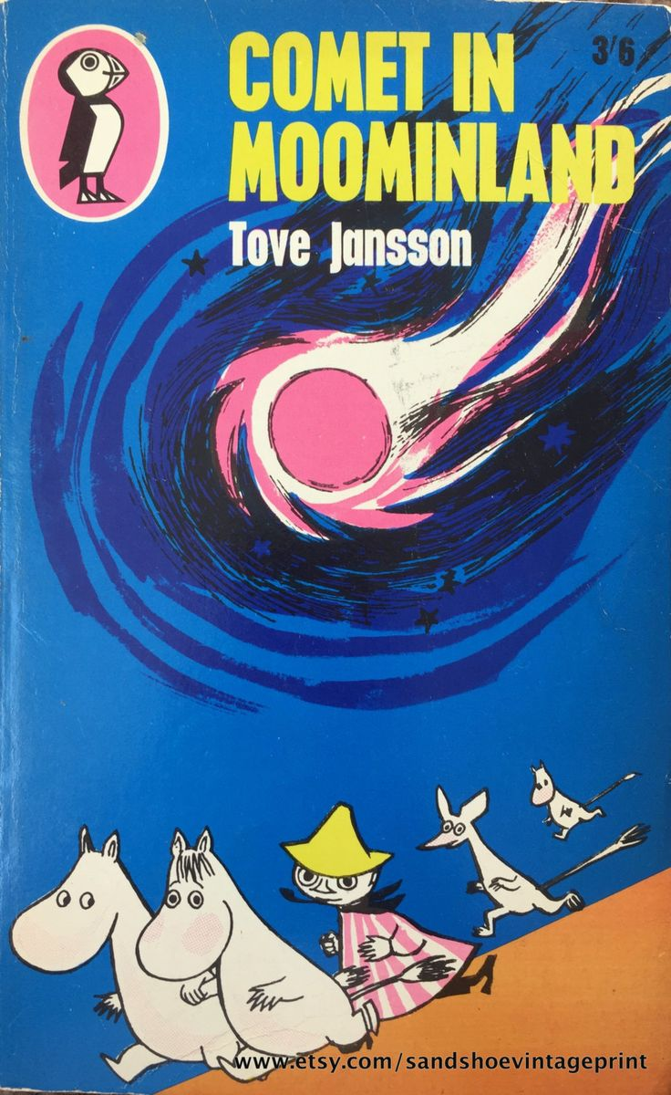 1967 COMET in MOOMINLAND By Tove JANSSON Penguin Puffin Book by sandshoevintage on Etsy