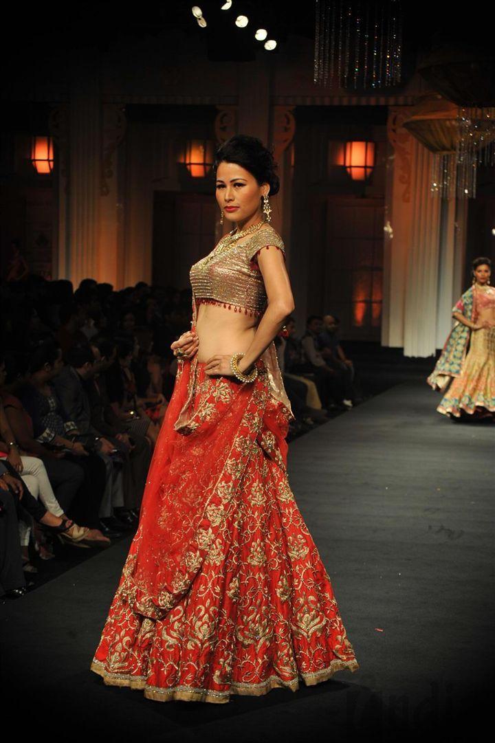 Jyotsna Tiwari's Collection http://jonastudio.com/ @ Aamby Valley India Bridal Fashion Week