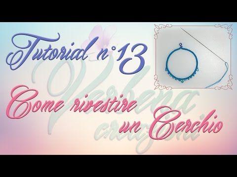 Chiacchierino ad Ago TUTORIAL 10 Come Realizzare un Cerchio su un Arco e il Mock Ring - YouTube