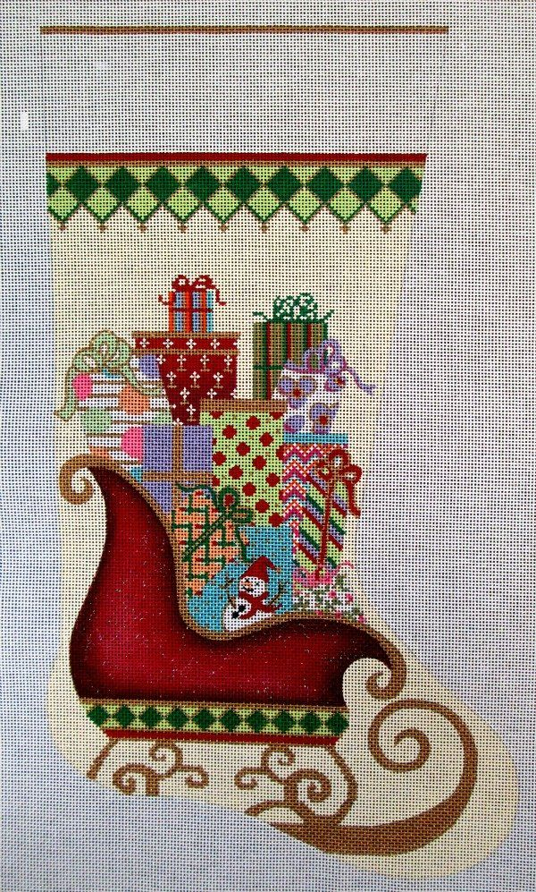 Cross Stitch Christmas Stockings For Kids