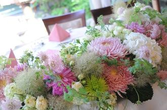 cute flowers for japanese wedding