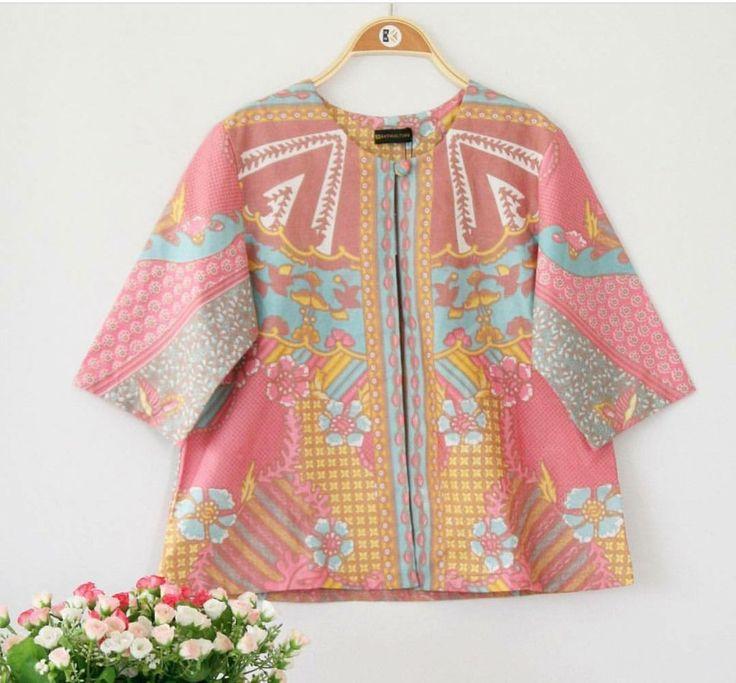 Batik Blazer design 3