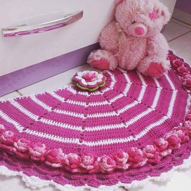 +1000 ideias sobre Tapeçaria Em Crochet no Pinterest  ~ Tapetes Para Quarto Infantil Em Croche