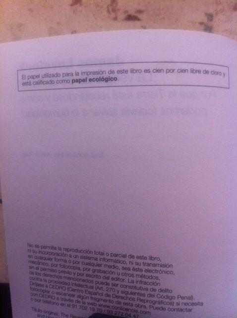 También los libros pueden ser ecológicos, pese a estar hechos de papel
