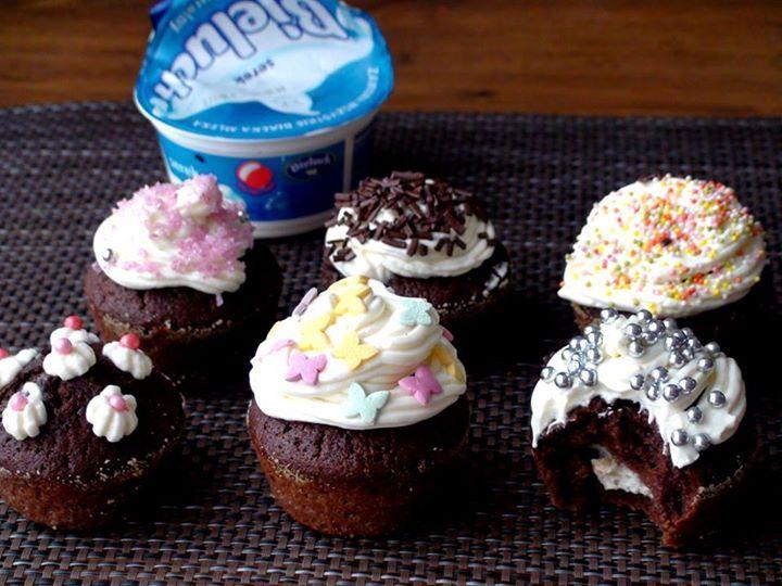 Muffiny z Bieluchowym nadzieniem