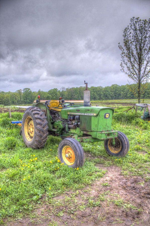 John Deere Tractor Photograph  - John Deere Tractor Fine Art Print