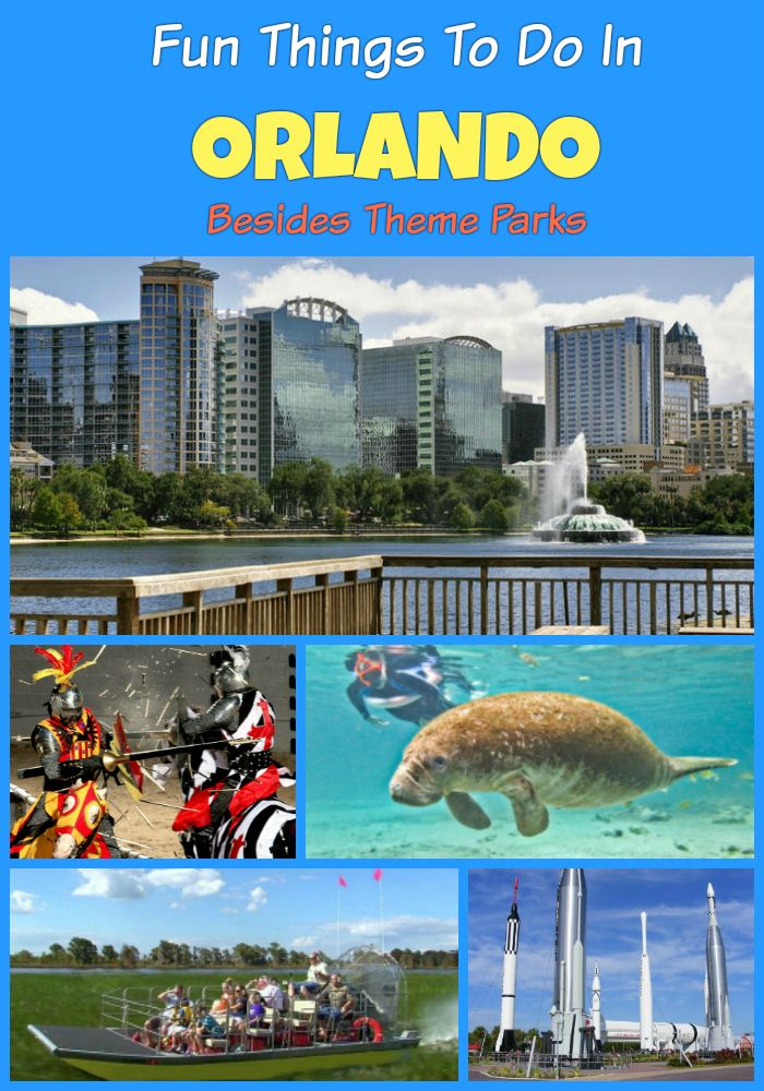 Fun Things To Do In Orlando In 2021 Besides Theme Parks Orlando Travel Orlando Florida Travel Orlando Theme Parks