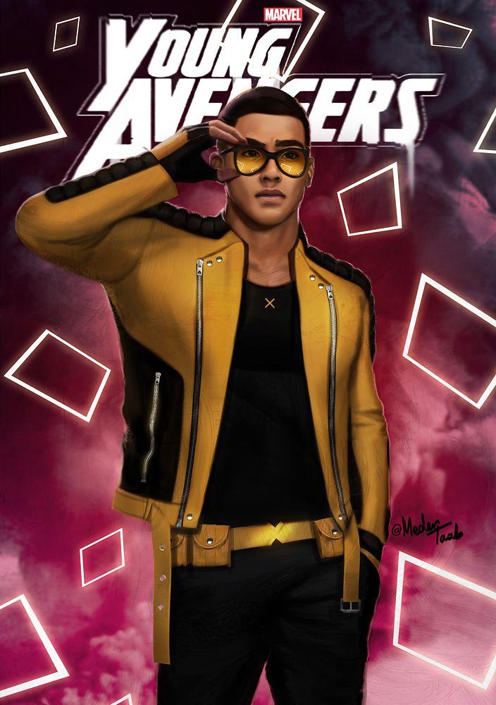 """There are new kids on the block""  Young Avengers Netflix mini-series. medertaab : David Alleyne, aka Prodigy."