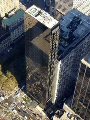 New York Architecture Images Millennium Hilton Hotel