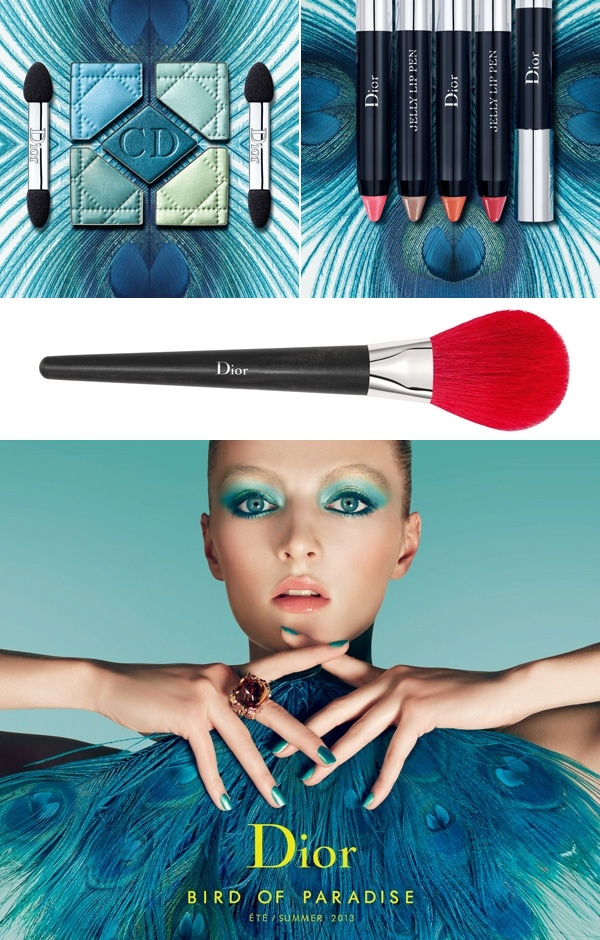 Dior make-up zomer 2013: Bird of Paradise | ELLE  Beautiful Colors!!