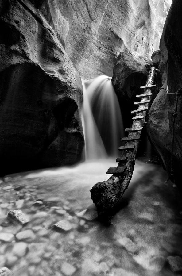Canyon Glow BW by Bill Ratcliffe on 500px