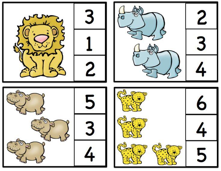 Preschool Printables: African Animals