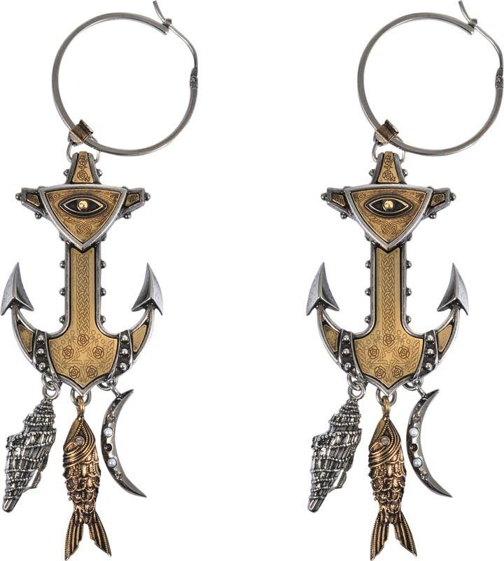 Alexander McQueen Anchor earrings