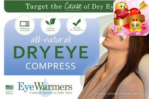 #care #EyeWarmers brand dry eye compresses are a proven and effective way to reduce the symptoms of dry eye syndrome while targeting the cause of the problem - m...