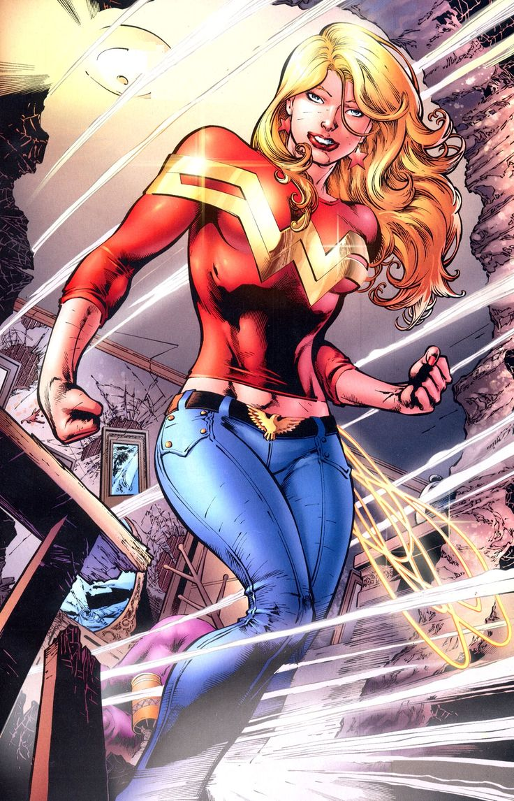 "Wonder Girl - Cassandra ""Cassie"" Sandsmark is the second person to be called Wonder Girl; the first being Donna Troy. Cassie is the daughter of Dr. Helena Sandsmark and the Greek god Zeus."