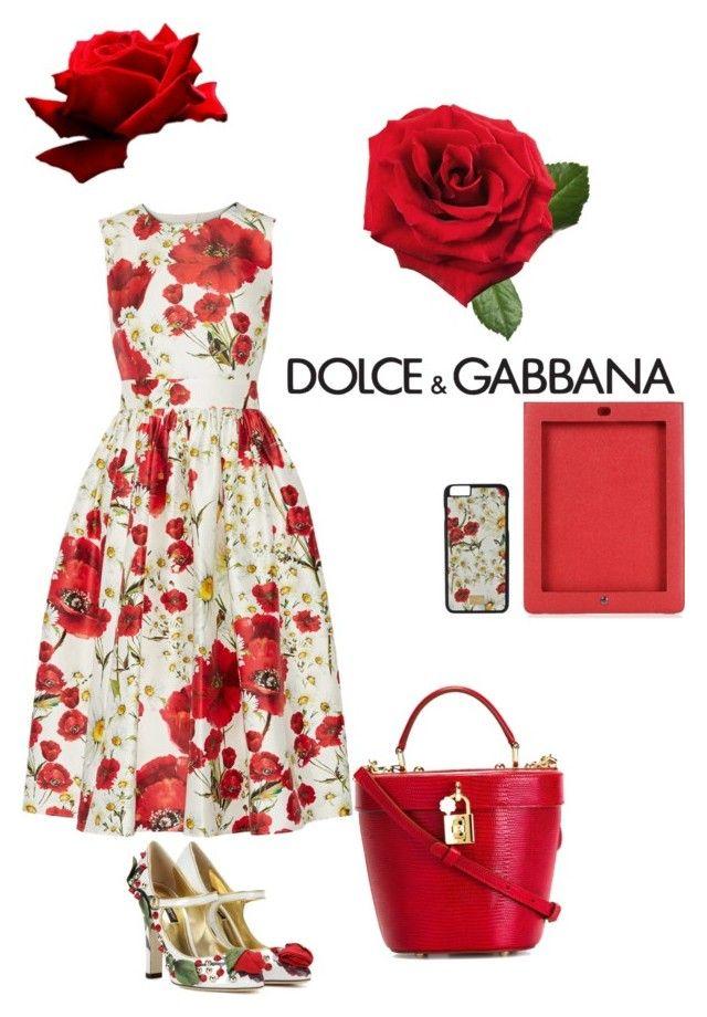 """Untitled #7"" by sahelposhtibani on Polyvore featuring Dolce&Gabbana"