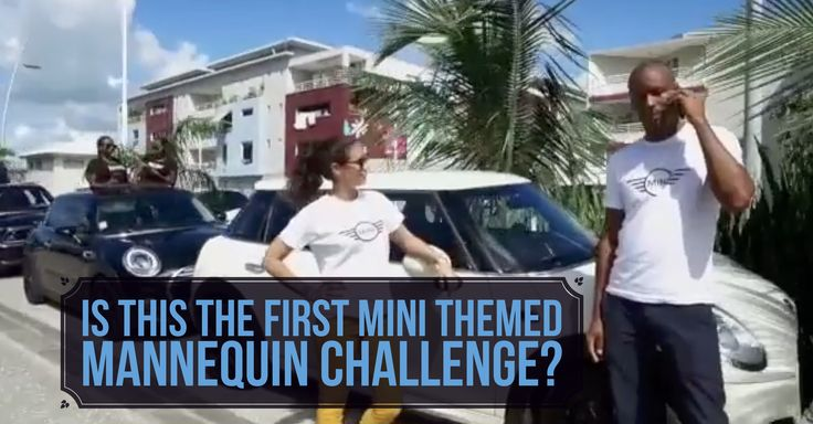 Admit it... You've been waiting for this viral craze to hit the MINI Community. http://bit.ly/2fZ1H01 #MINICooper #MannequinChallenge